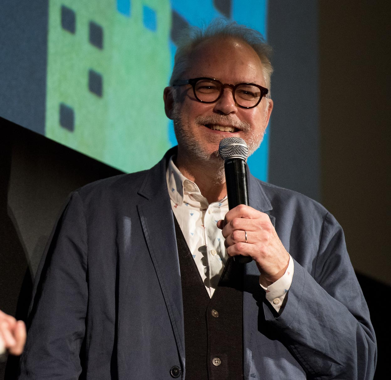 Photo from DOC NYC screening, by Carlos Sanfer