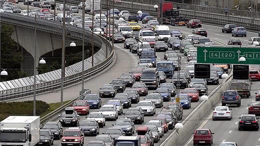 Essingleden Highway job. - Stockholm