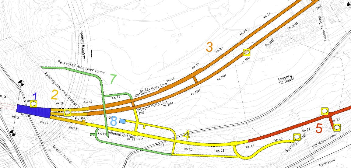 Follow Line Tunnel Development - Norway