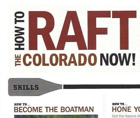 Reporting: Raft the Colorado Now!