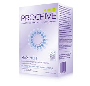 Proceive Women's Fertility Supplements - Max Stength