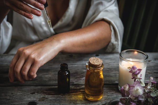 Essential oils for relaxation.