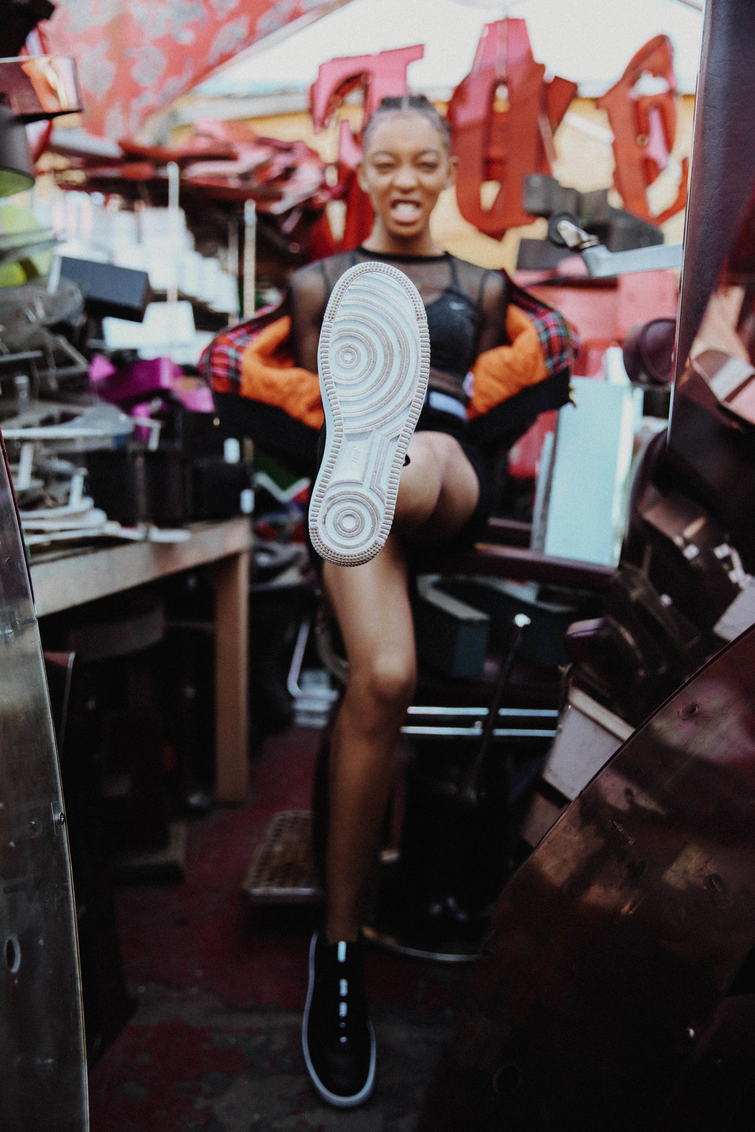 NIKE FORCE IS FEMALE CAMPAIGN