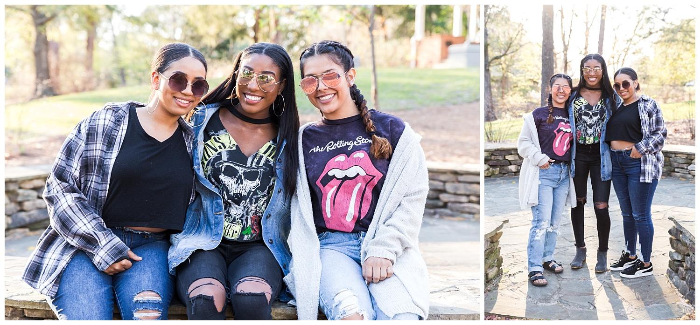 senior pictures with best friends - auburn alabama - lauren beesley photography