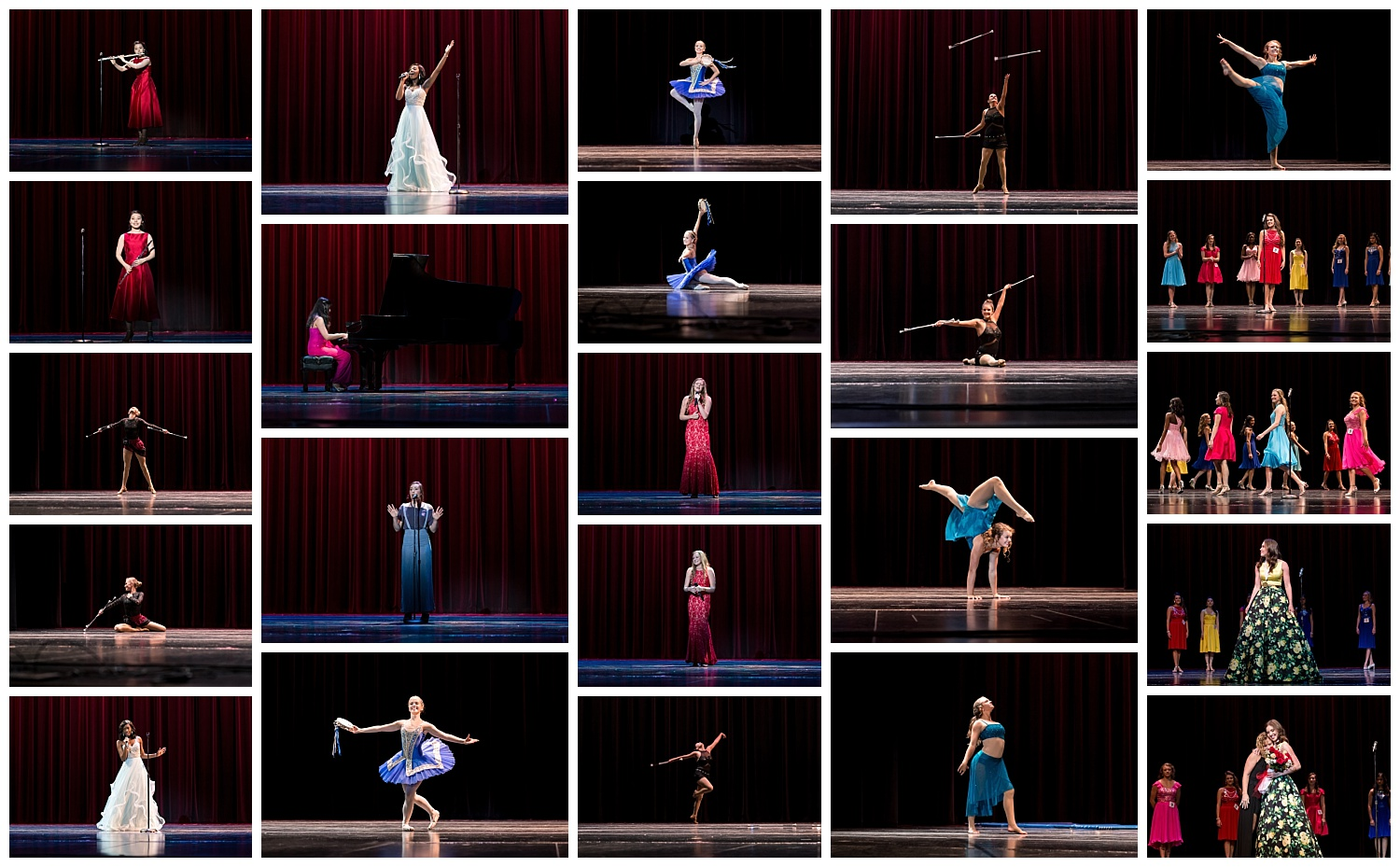 lee county alabama distinguished young women - lauren beesley photography