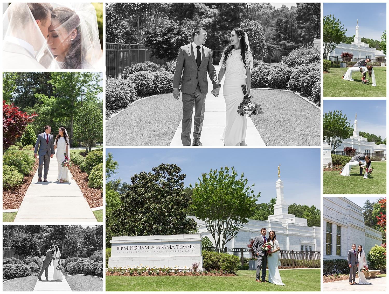 birmingham temple wedding lauren beesley photography