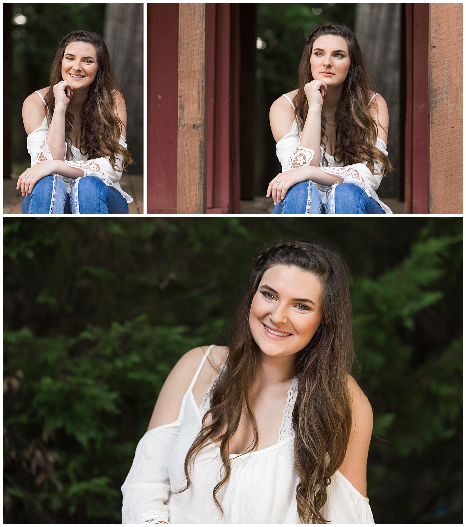 monkey park senior portraits lauren beesley photography