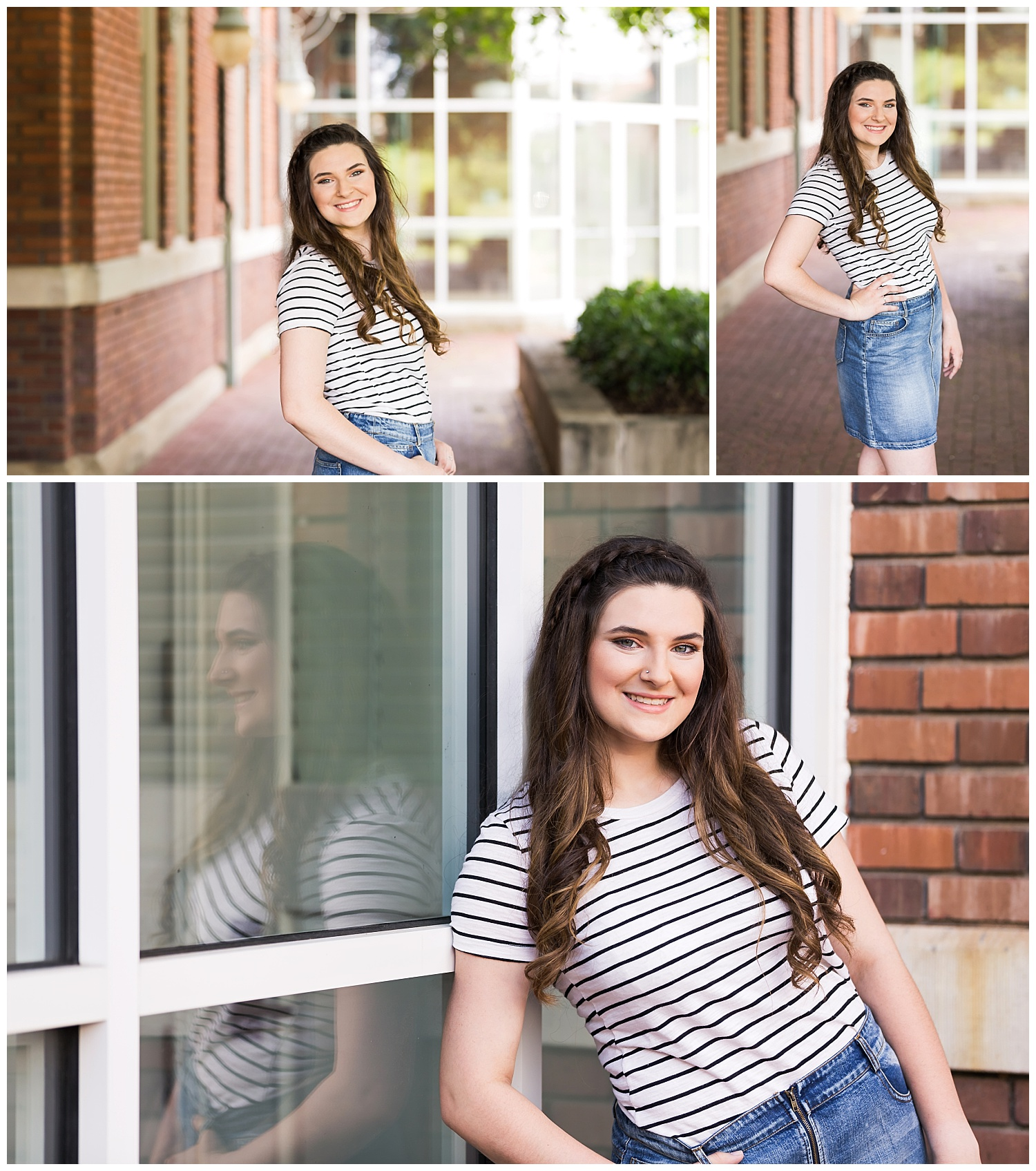 historic downtown opelika senior portraits lauren beesley photography