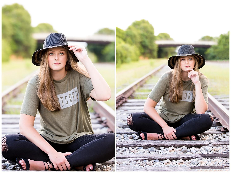 auburn opelika southern railroad senior portraits