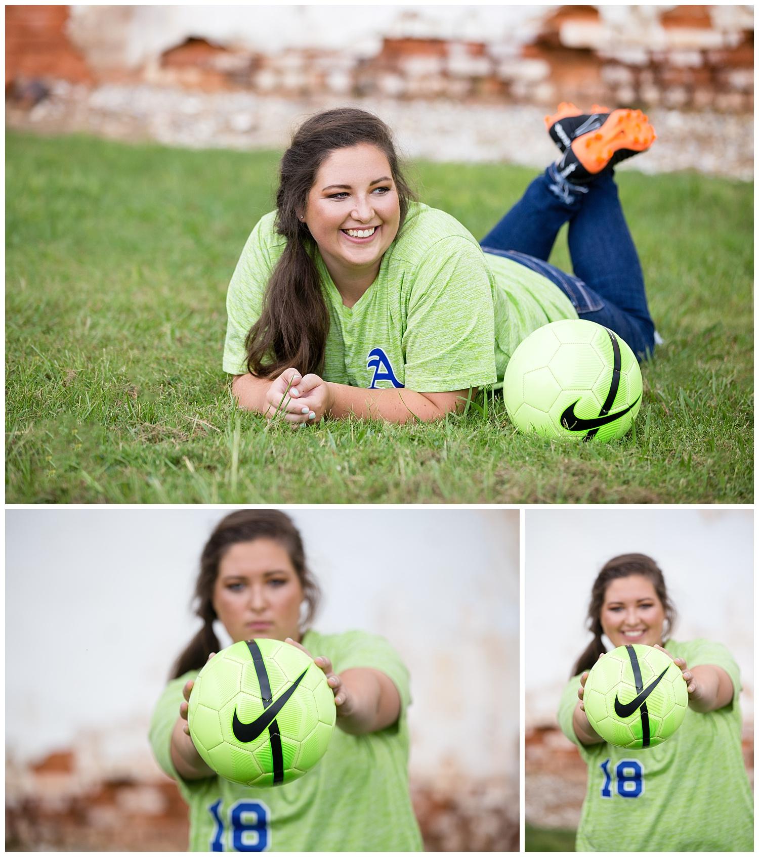 auburn high school soccer lauren beesley photography senior photos