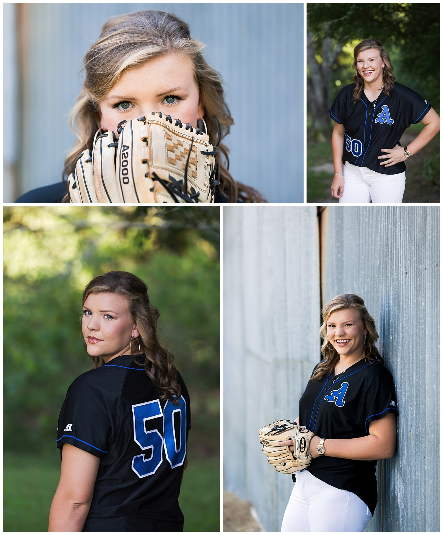 auburn high school softball lauren beesley photography senior portraits