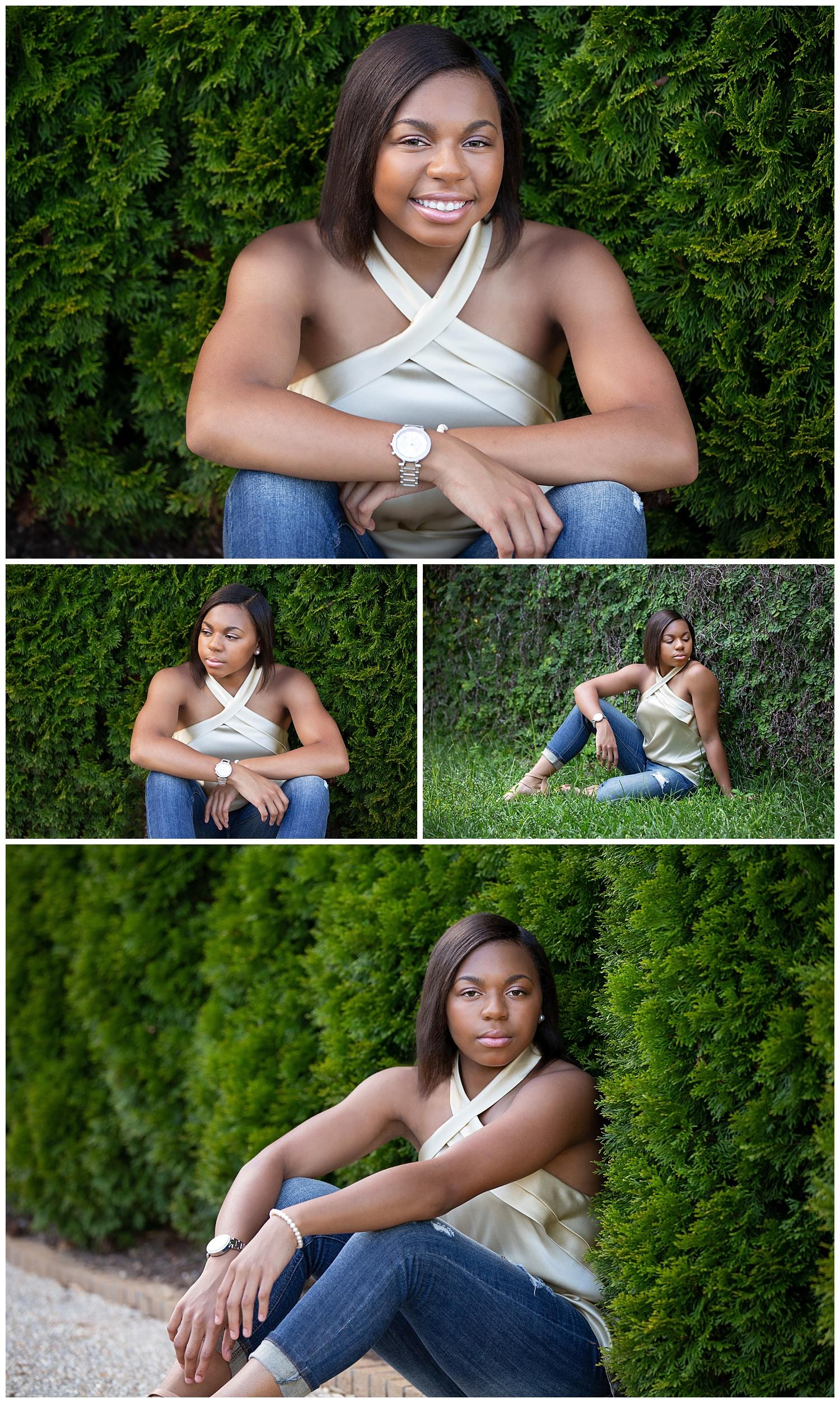 opelika high school senior photos strong arm pose