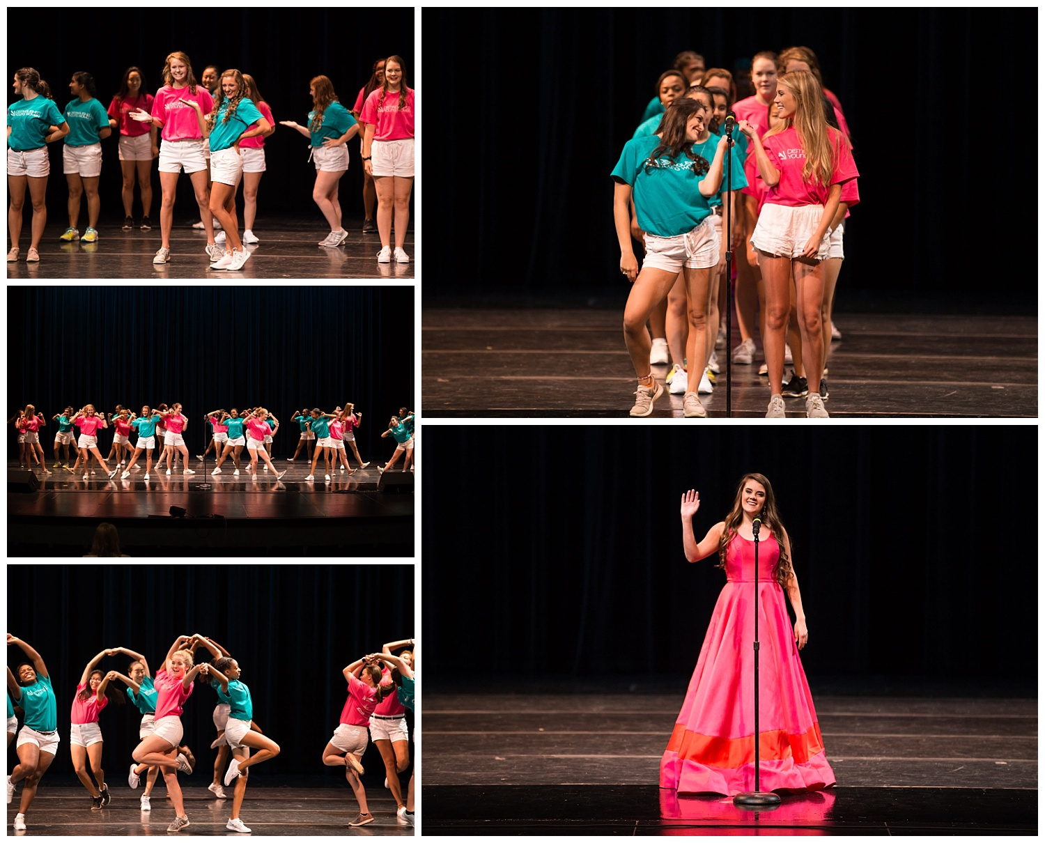 distinguished young women lee county opening number