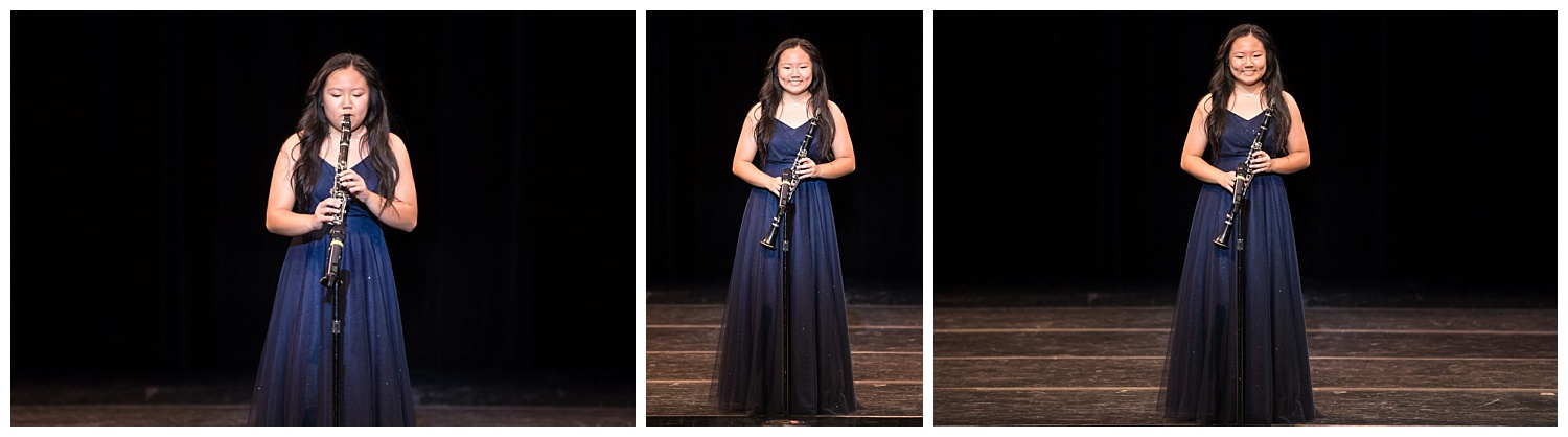 distinguished young women lee county talent flute