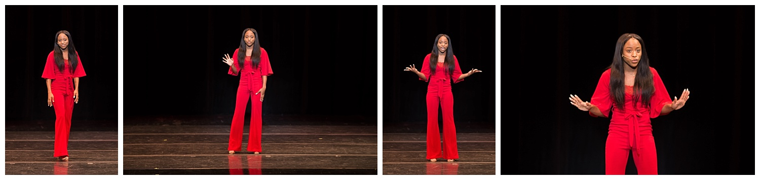 distinguished young women lee county talent monologue