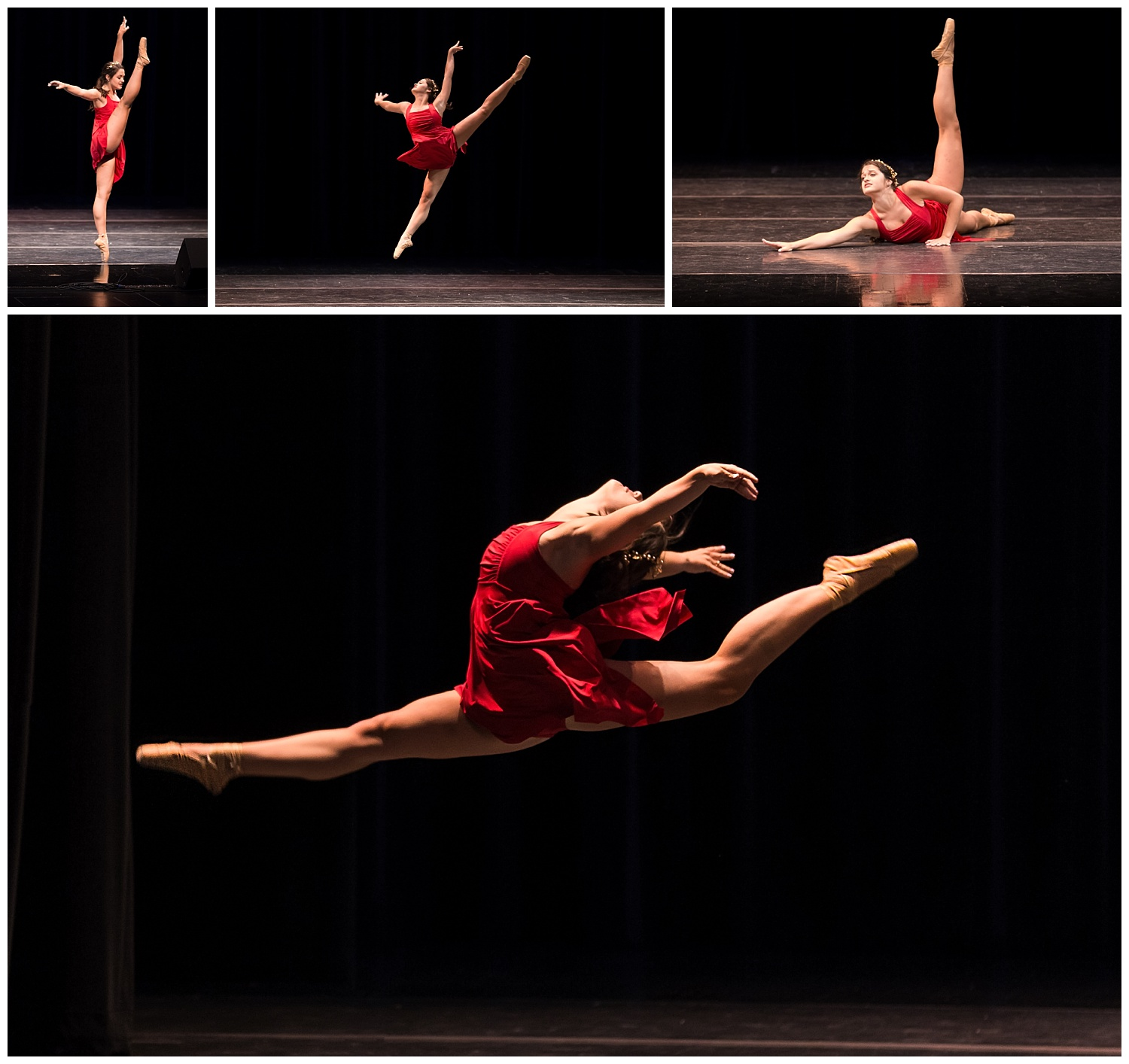 distinguished young women lee county talent ballet camille