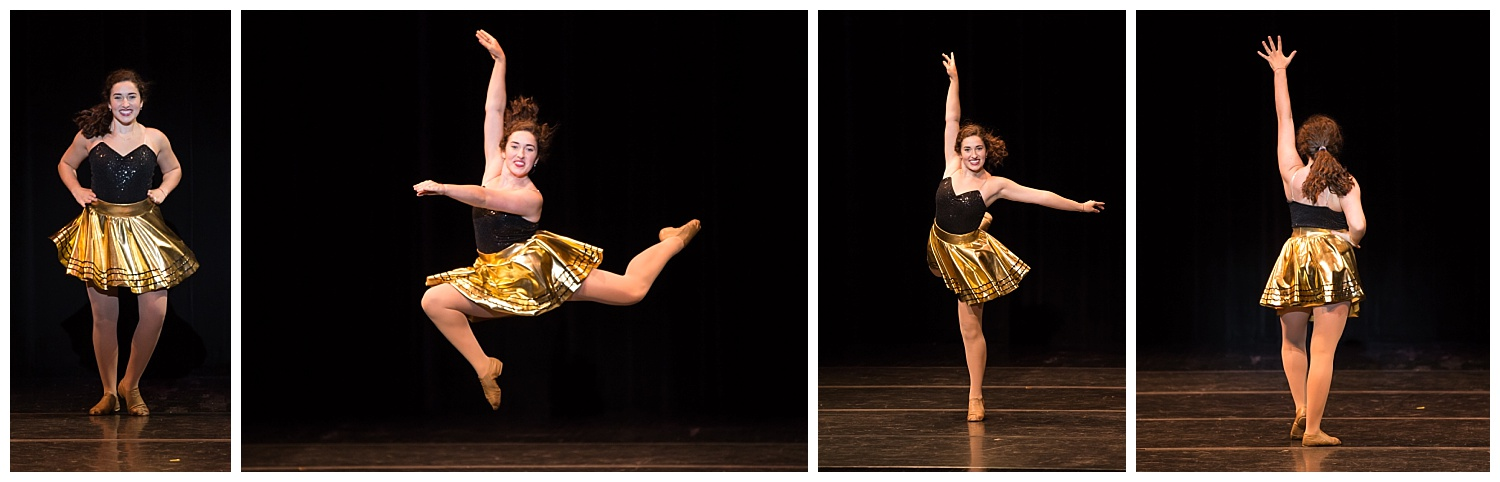 distinguished young women lee county talent jazz dance