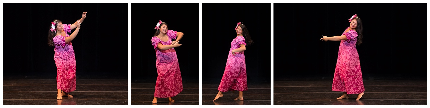 distinguished young women lee county talent hula