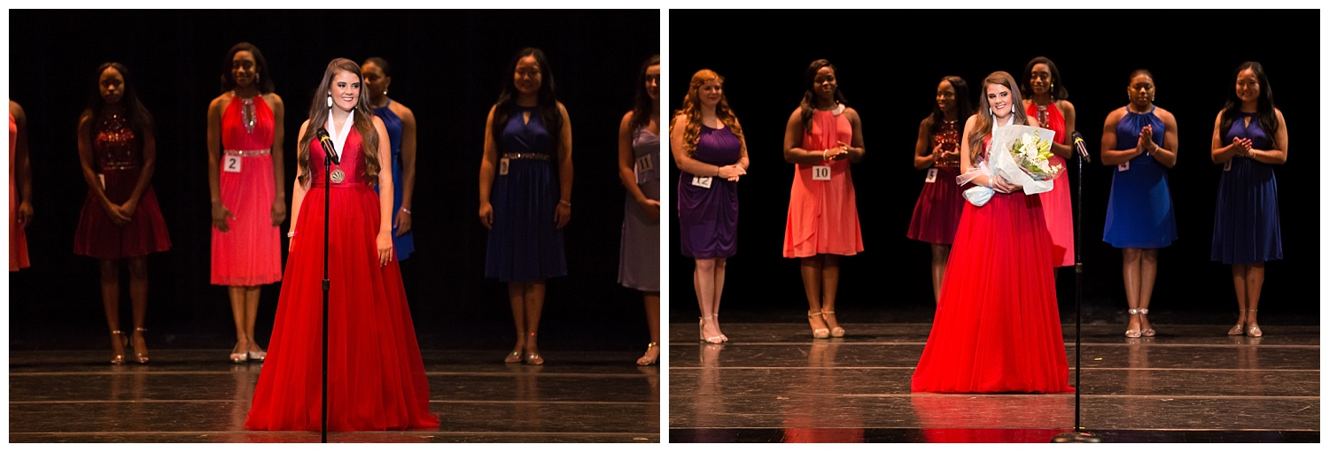 distinguished young women lee county talent farewell