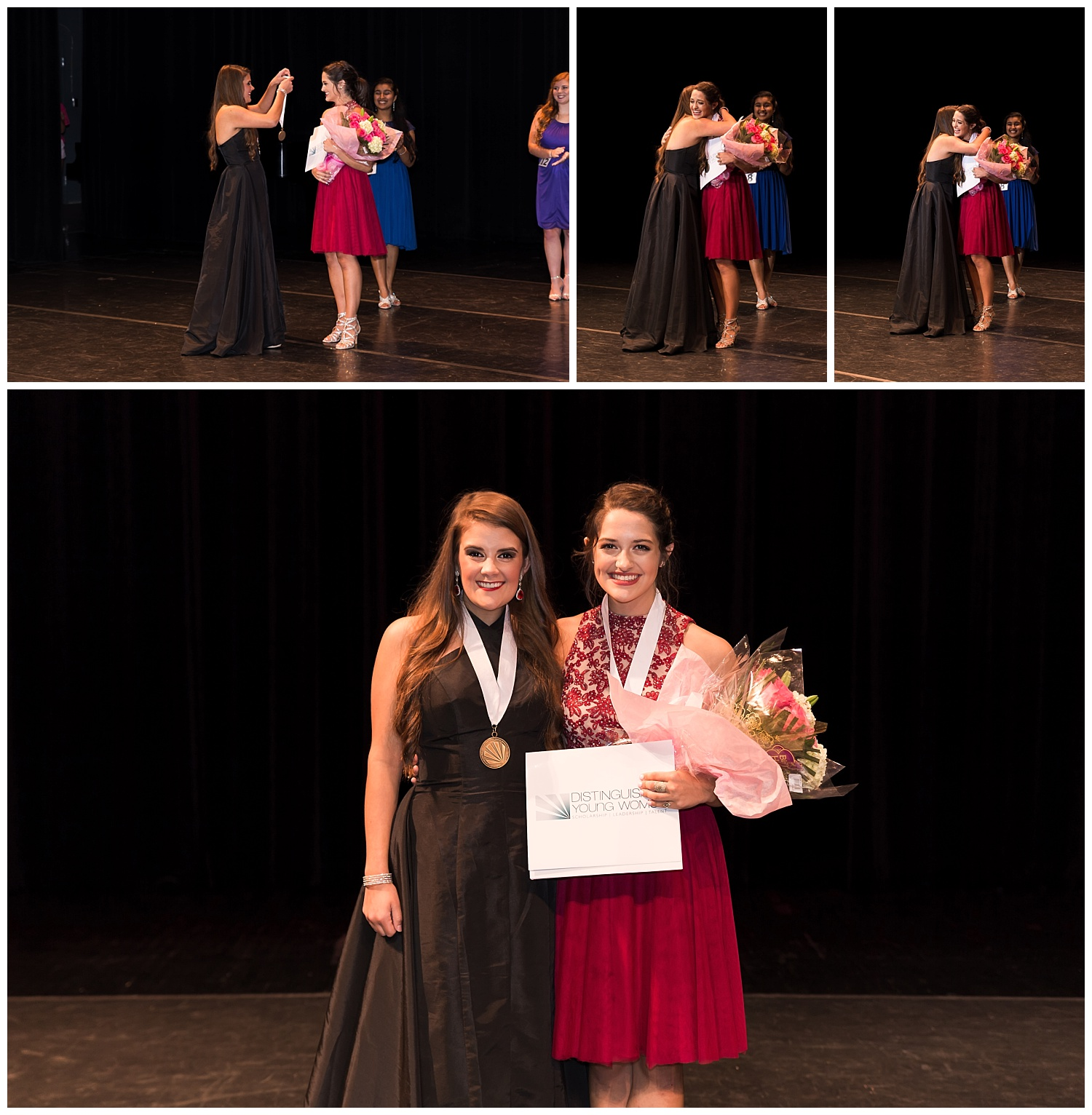 distinguished young women lee county talent winner camille