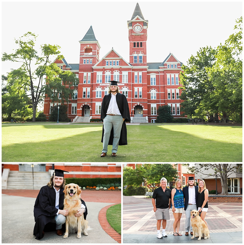 samford hall toomers corner graduation photos auburn university