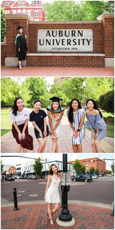 auburn university graduation photos lauren beesley photography