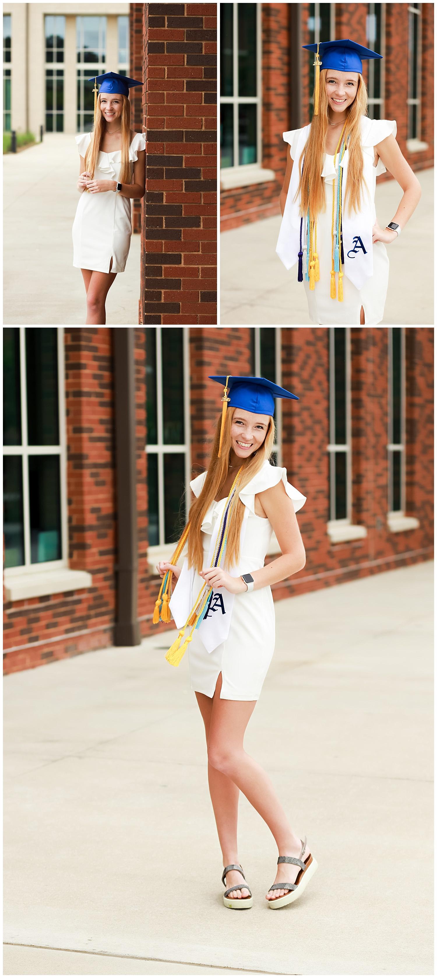 senior photos auburn high school cap and gown graduation