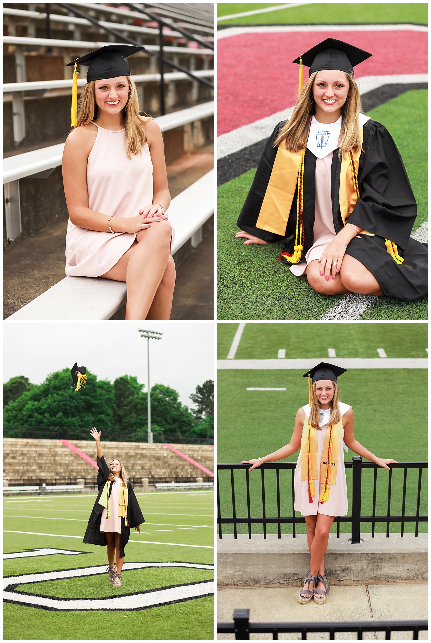 opelika senior portraits graduation session stadium