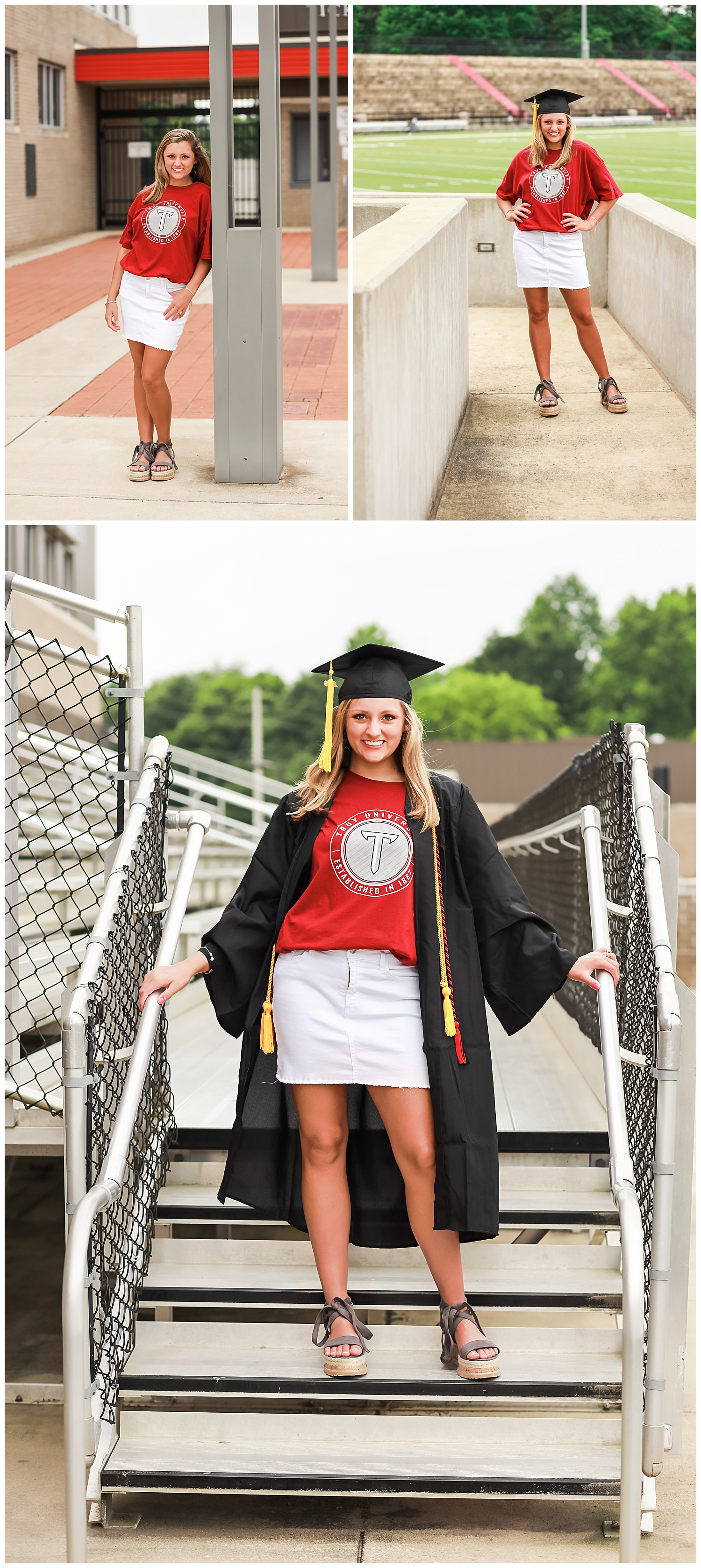opelika senior portraits graduation session troy university