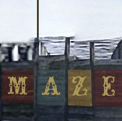 The cowtown cattlepen maze -