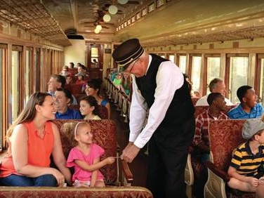 Grapevine vintage railroad -