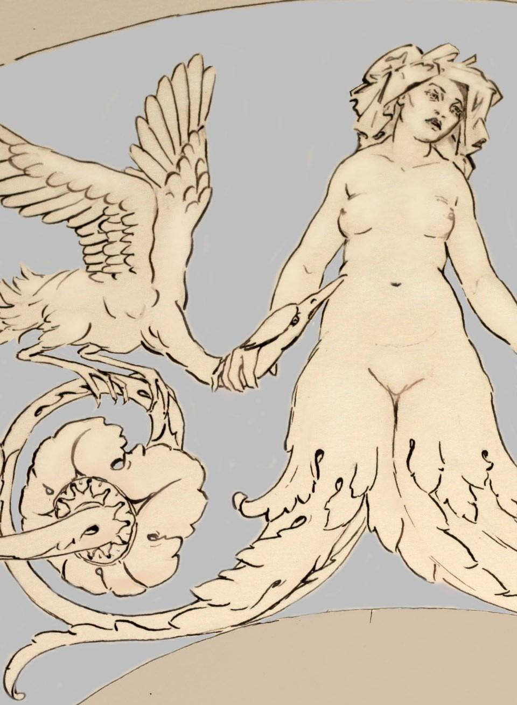 Detail of a fan design