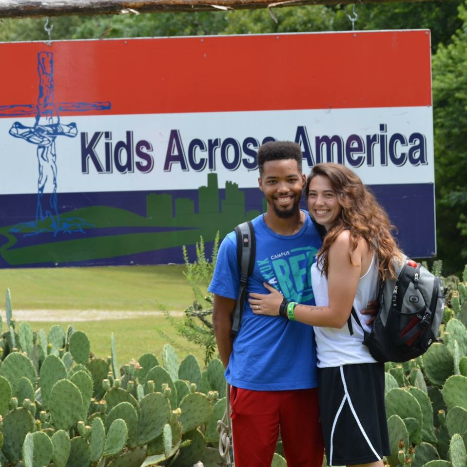 Kids Across America; Michael proposed on June 24, 2016 when we went back to KAA a year later as Kaleos.