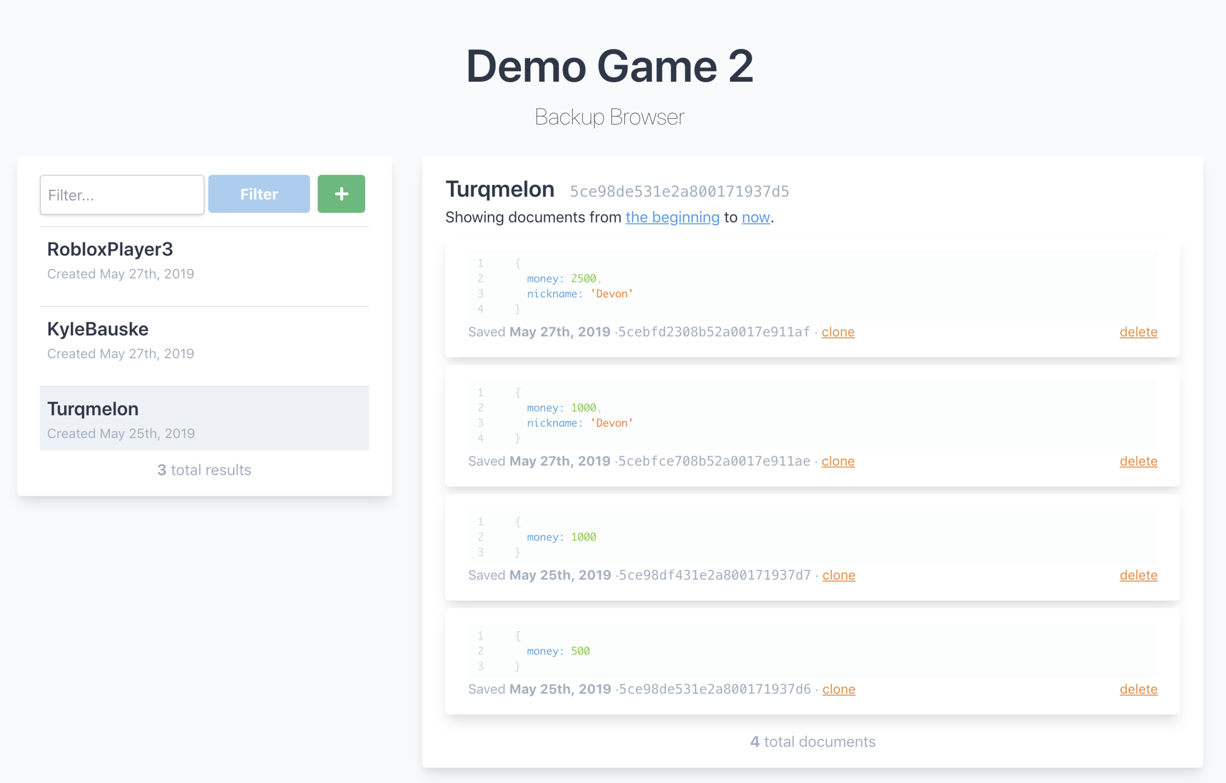 Pre-production UI. Subject to change for final release.