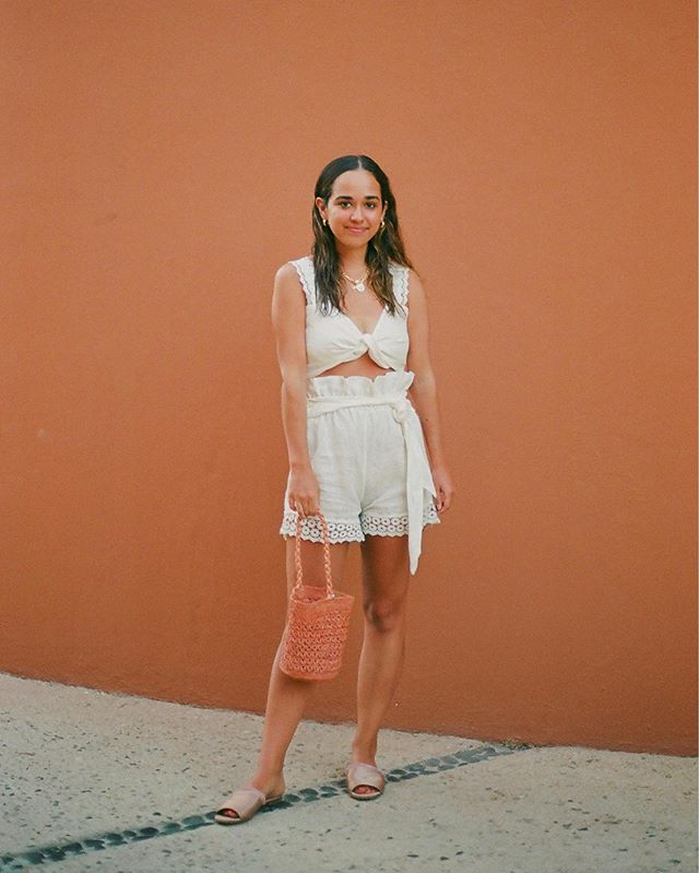 An orange creamsicle with wet hair 🍊🧡 #35mm