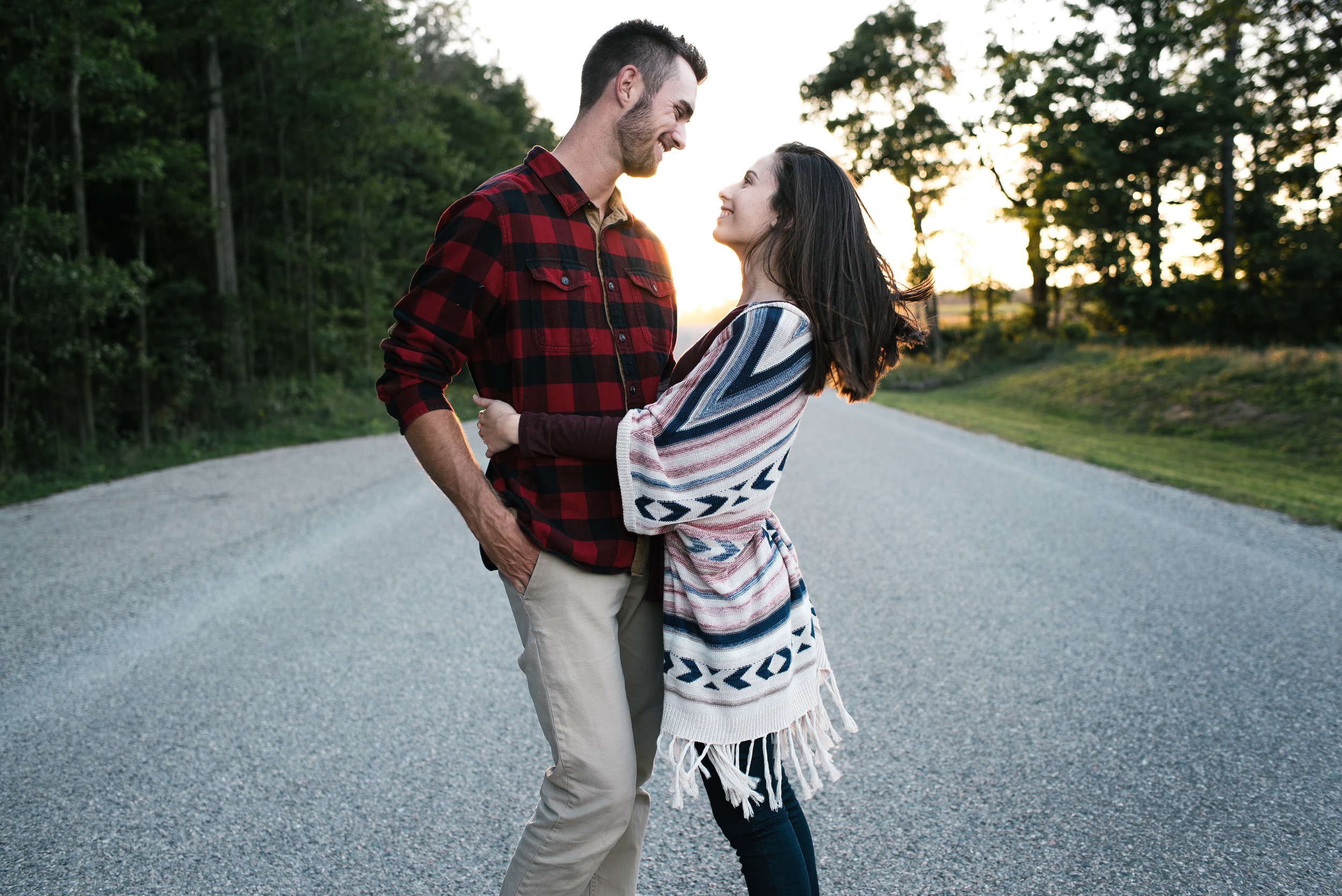 Engagement Shoot, London Ontario. Kyle Green Photography