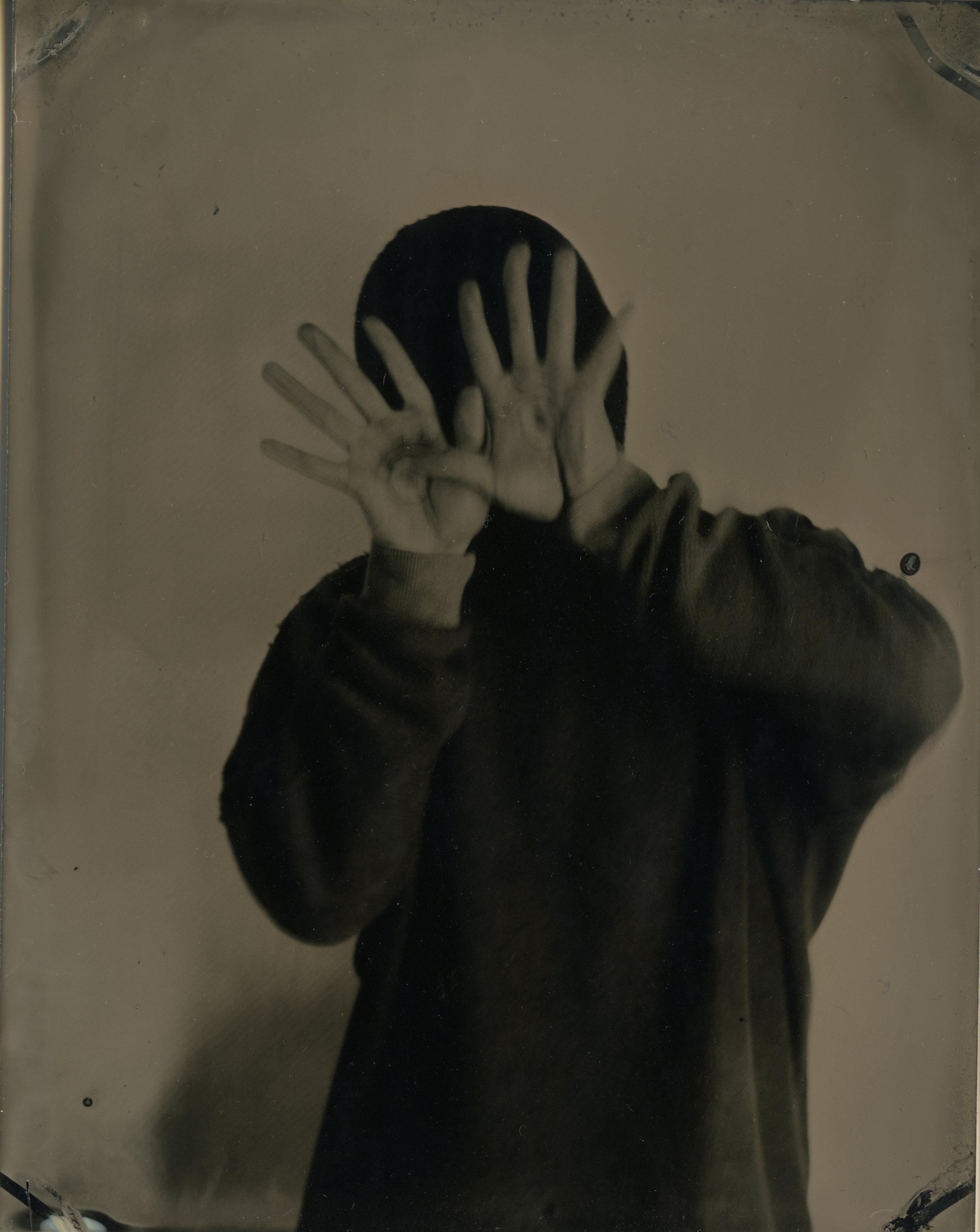 "collodion tintype   3.5""x4.5"""