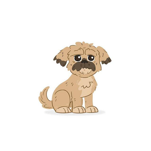 Yub nub.  #dogadaymay #iwilldrawyourdog #dogs_of_instagram #shihtzu #shihtzusofinstagram #ewok #wicket #yubnub #starwars #dogs #doggo #art #illustration #drawing