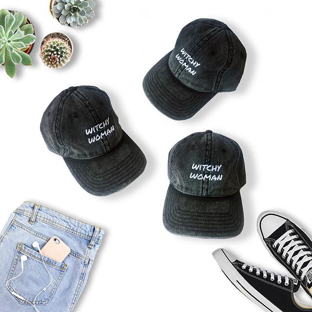 Looking for a new hat? Rock our Witchy Woman Dad Cap. More colors are available on our website.  #workoutclothes #livingfiveelements #witchywoman #wiccan #witchyvibes #witchywomanapparel #livingfiveelements #wiccansofinstagram #witchythings #witchyvibes #witchaesthetic #workout #hat #witchywomanapparel  #mothernature #moonmagic #magic #dadcap #dadcaps #etsy #etsyshop #etsyseller #etsysellersofinstagram #etsyfinds #etsymaker