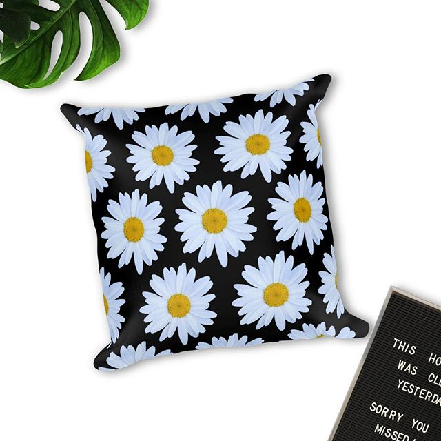 Our Daisy Print Pillow is the perfect addition to any room. Available in several different colors in our Etsy shop, link in bio. FREE SHIPPING on all orders! 🌼✨ #homedecoration #homedecor  #bohodecor #livingfiveelements #witchywoman #witchyvibes #witchywomanapparel #livingfiveelements #wiccansofinstagram #wiccanart #witchythings #witchyvibes #witchaesthetic #pillow #flowerpower #flowerpillow #vintagestyle #daisies #flowerchild #throwpillow #witchywomanapparel #etsyshop #etsyseller #etsyfinds #70s #60s #vintagehome
