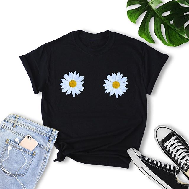 Check out this Daisy Feminist Tee just added to our shop, perfect for festivals and concerts. Our entire shop is 20% off through the end of the month! Come and get it 🌼🐥🌈🔮 #feminist #festivalfashion #daisies #flowers #etsy #etsyshop #etsyseller #etsysellersofinstagram #bohostyle #witchy #witchywoman #witchythings #clothingbrand #plantmagic #plantpower #gardening #magic #tshirt #witchesofinstagram #vintagestyle #witchywomanapparel #girlpower #flowershirt #hippie #hippiestyle #bohofashion