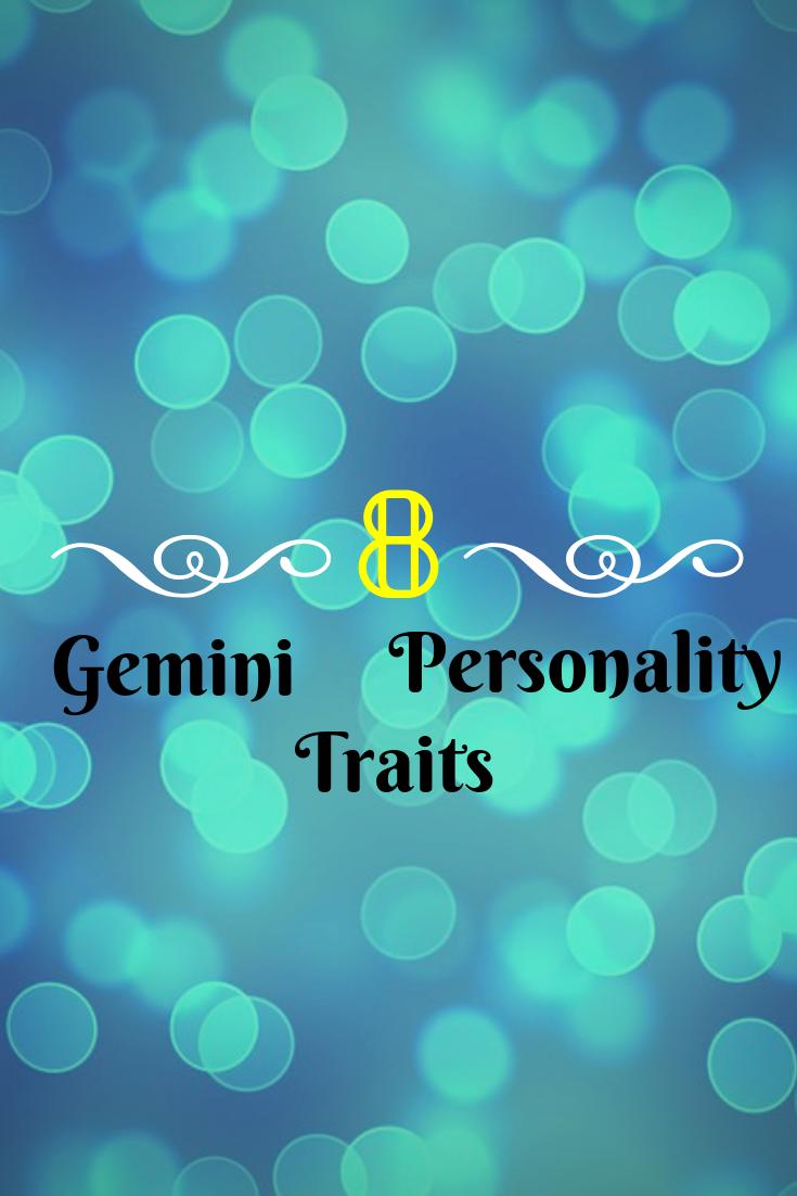 Gemini personality traits