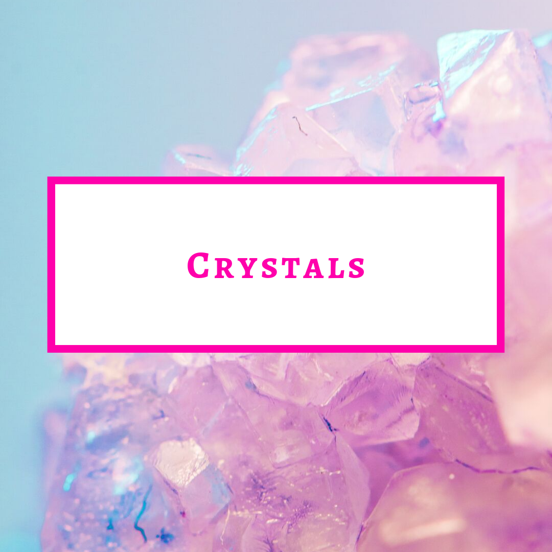 So you want to learn more about crystals? Check out this section here and get a little more intimate with crystals!