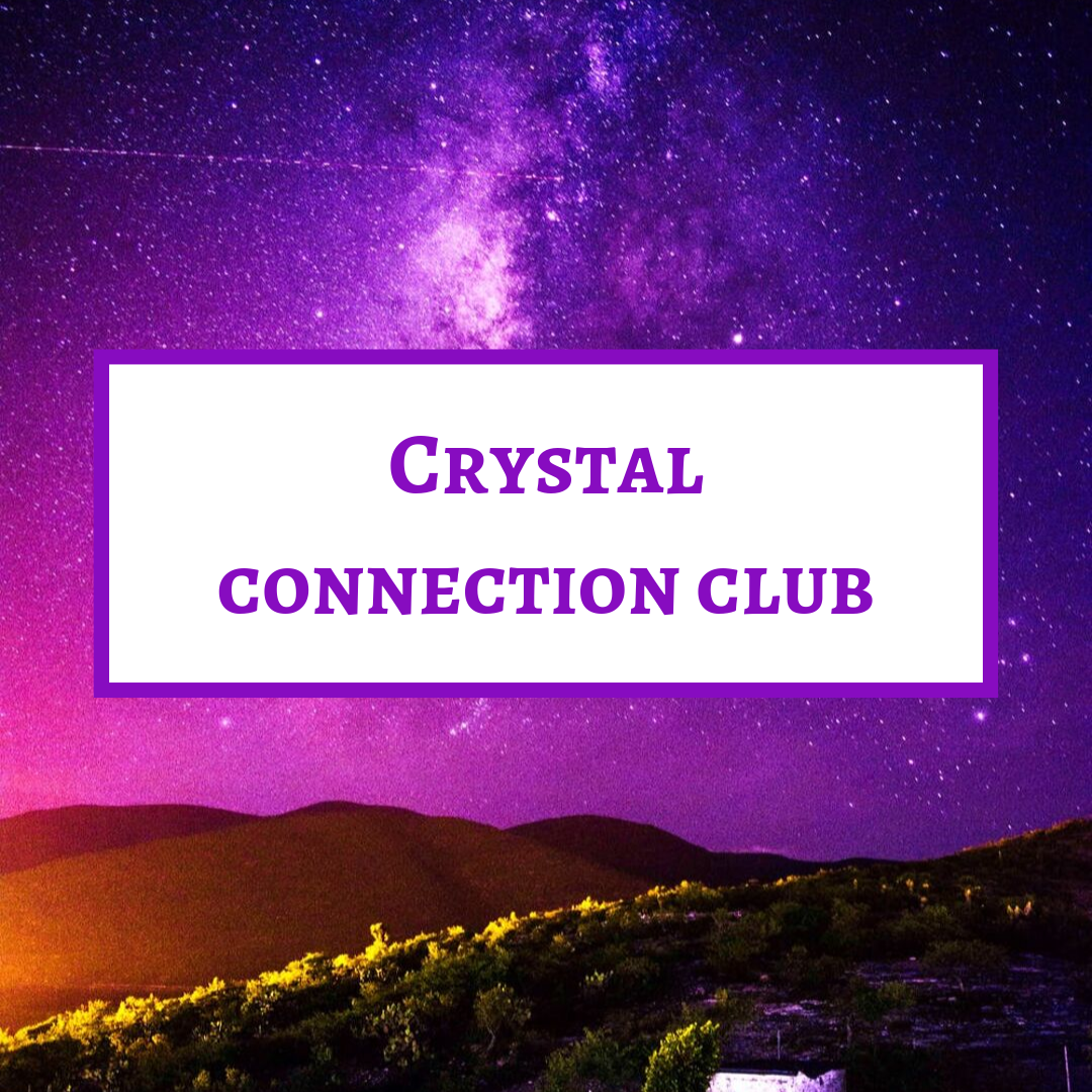 Want to learn even about crystals? Ya you do! Sign up for the crystal connection club and  learn some extra information each and every month!