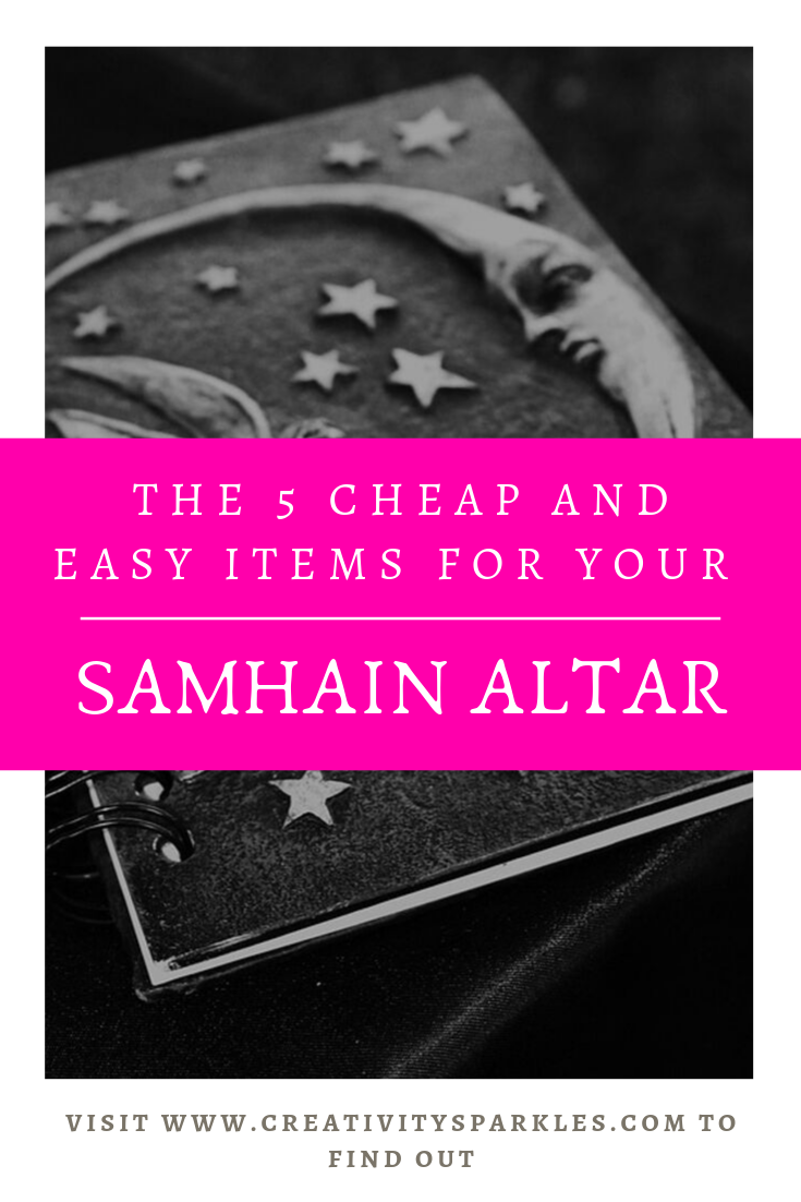 The 5 cheap and easy items for your altar