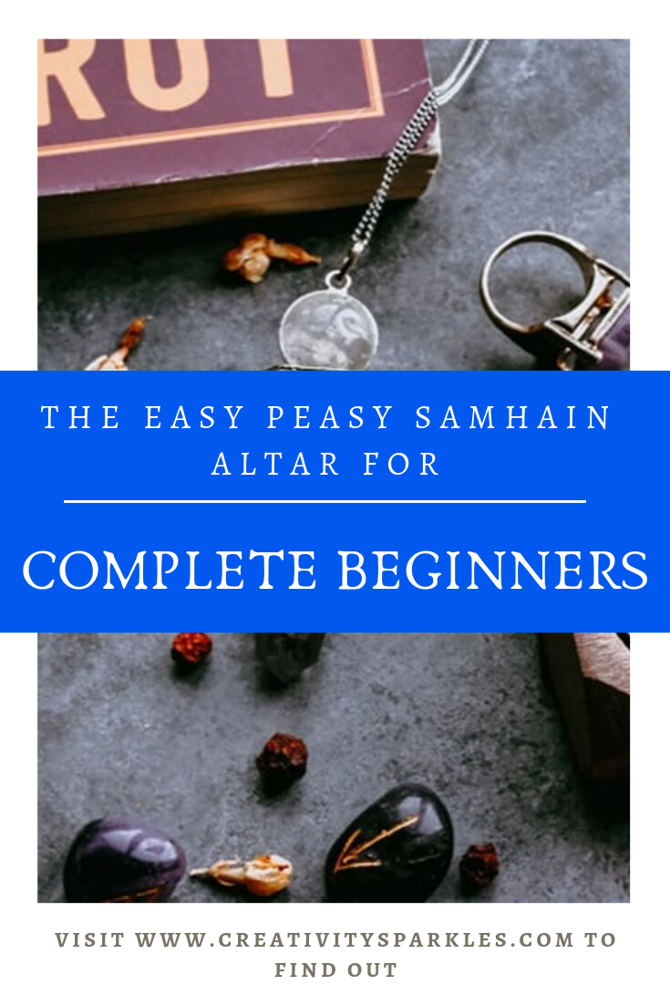 The easy peasy samhain altar for complete beginners