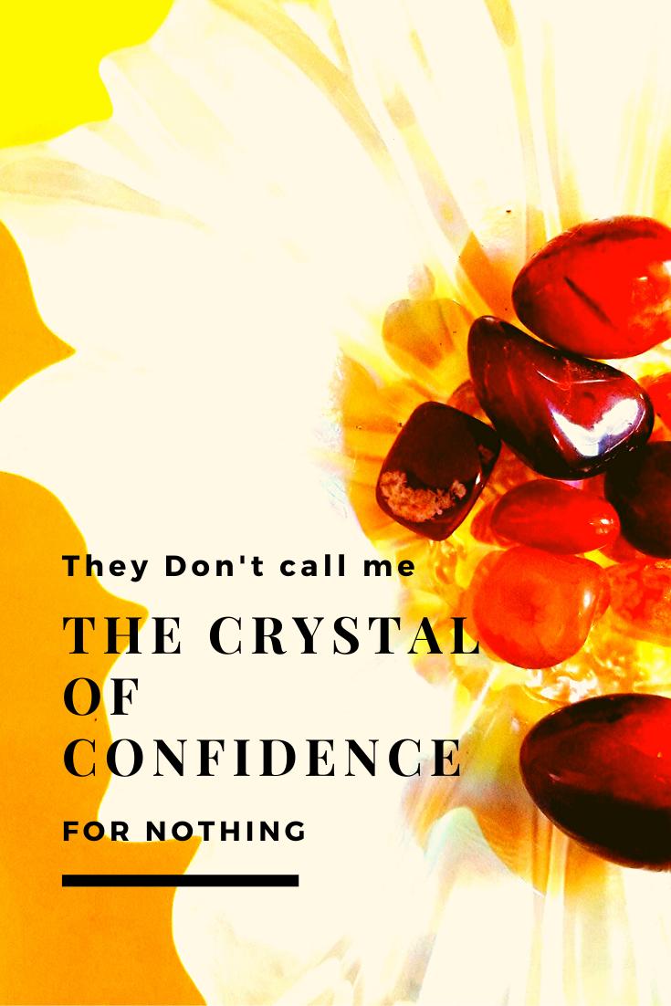 Carnelian stones= creativity