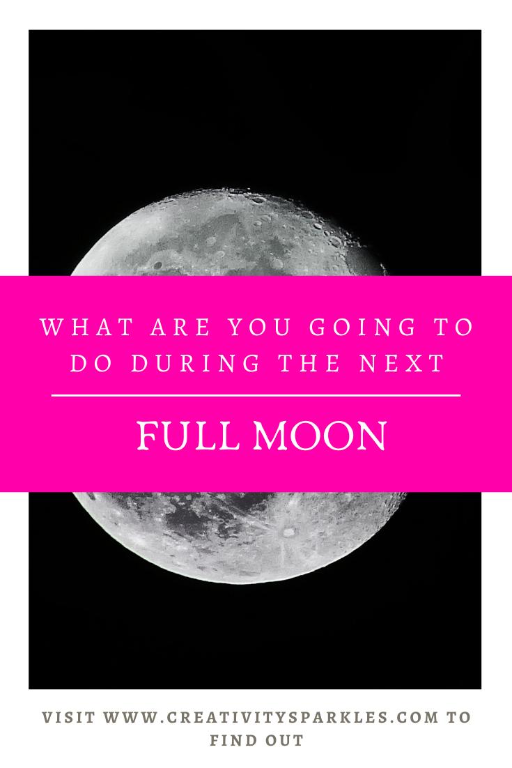 Full moon activities