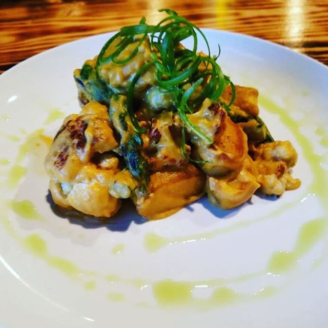 Tonight's Special is Gnocchi with charred asparagus and cauliflower in a butternut squash cream sauce. @craftathens #eatlocal #drinklocal @sobrewco @creaturecomfortsbeer @terrapinbeerco @oconeebbrewingco @mondaynight @orpheusbrewing @redharebrewing #petfriendly #outdoorseating #uga #universityofgeorgia #bulldawgnation #universityofgeorgiabulldawgs #dawgnation #my_athens #athensga #craftbeer #foodie #foodporn #localbrew #housemadepasta #special #pasta #freshmade #athensfoodie #happyhour #sundaybrunch #sundayfunday #fromscratch