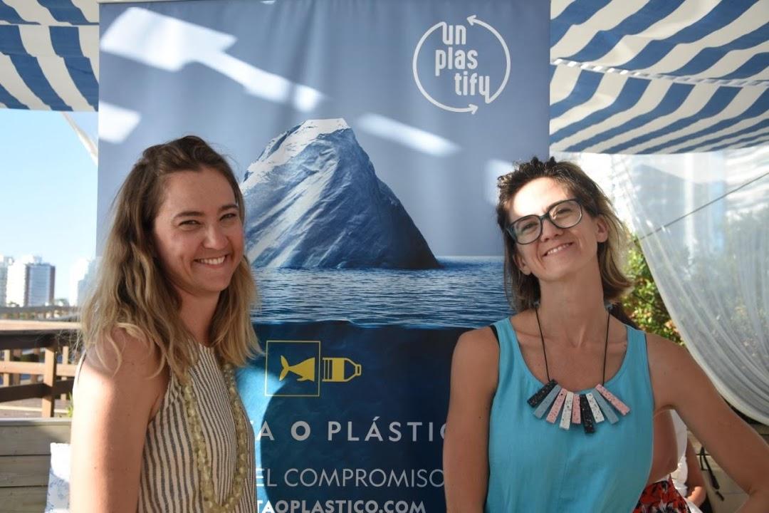 co-directoras Unplastify: Rocío Gonzalez y Agustina Besada